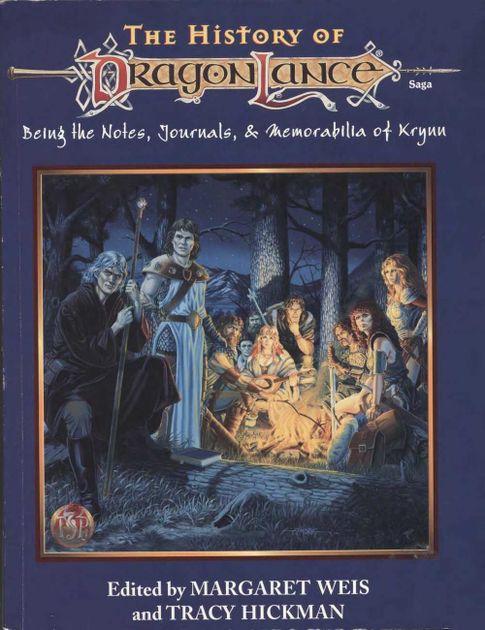 The History of Dragonlance   RPG Item   RPGGeek