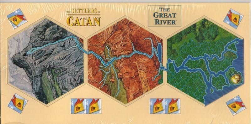 The Settlers Of Catan Great River Boardgeek