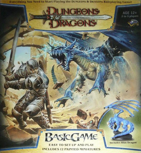 Dungeons & Dragons Basic Game | Board Game | BoardGameGeek