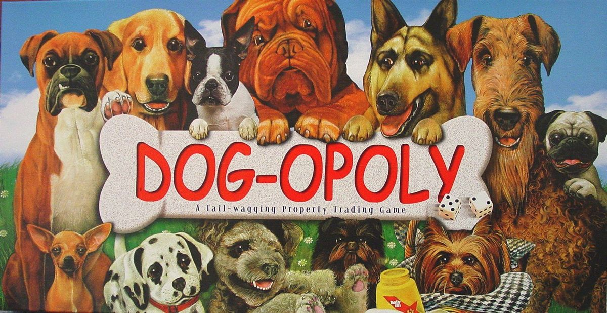 Dog Opoly Board Game Boardgamegeek