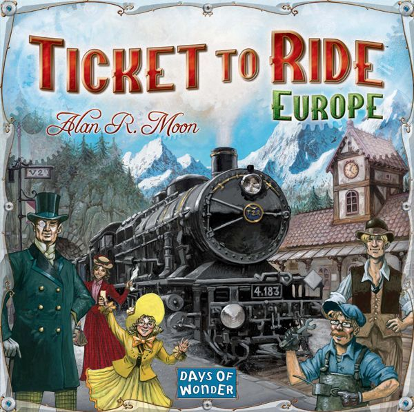 Ticket To Ride Europe Board Game Boardgamegeek