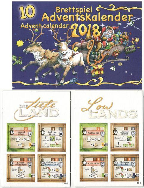 Weihnachtskalender Wiki.Lowlands Brettspiel Adventskalender 2018 Promo Board Game