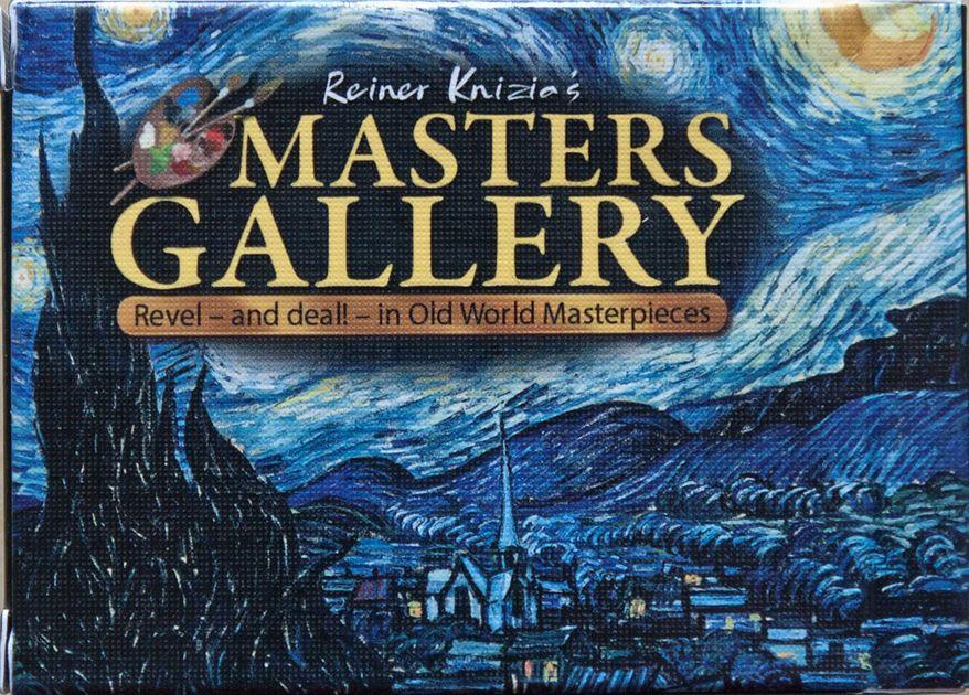 Masters Gallery Board Game Boardgamegeek