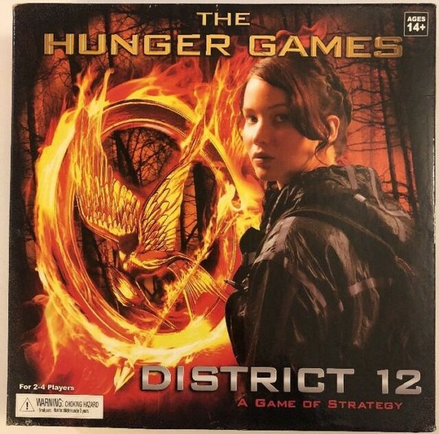 The Hunger Games: District 12 Strategy Game | Board Game
