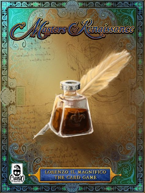 Masters of Renaissance: Lorenzo il Magnifico – The Card Game
