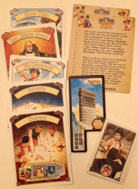 New York 1901: Flatiron | Board Game | BoardGameGeek