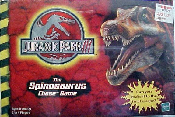 Jurassic Park III: The Spinosaurus Chase Game | Board Game