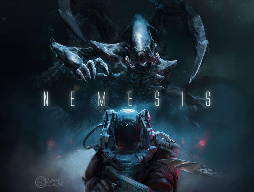 Nemesis Game MEDIC Awaken Realms Kickstarter Exclusive