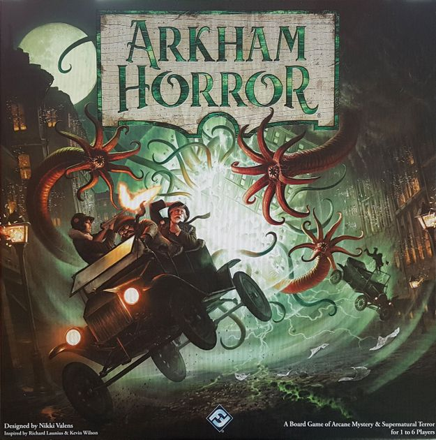 Arkham Horror Third Edition Board Game BoardGameGeek