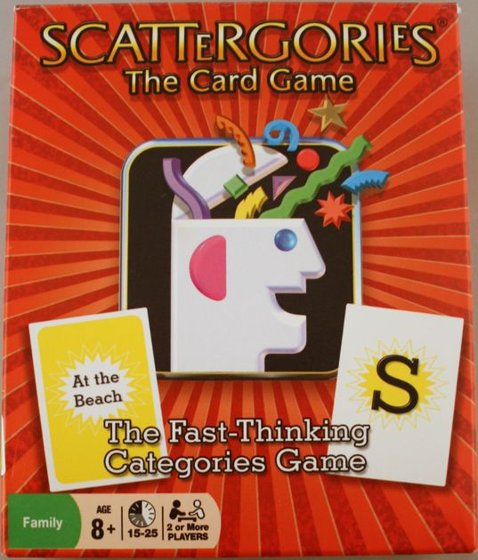 Scattergories Game Complete Set Of 18 Category Cards Game Pieces Parts