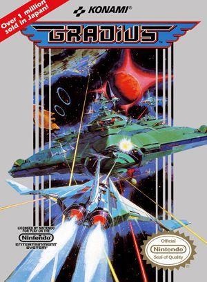 Gradius   Video Game   VideoGameGeek