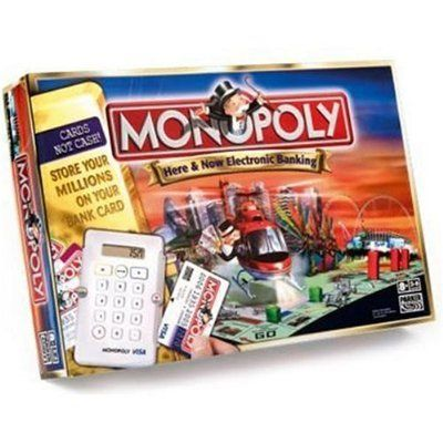 Monopoly Here Now Electronic Banking Board Game Boardgamegeek