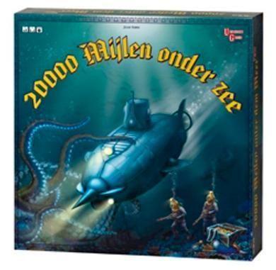 20000 Mijlen Onder Zee Board Game Boardgamegeek