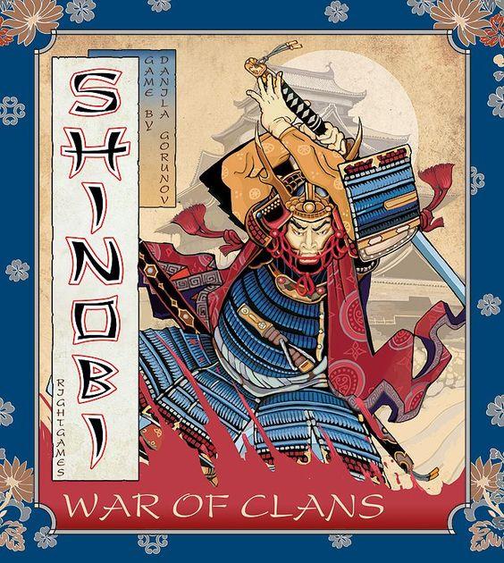 Shinobi: War of Clans   Board Game   BoardGameGeek