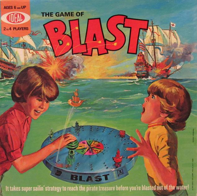 Not really a 'Blast' to play, unless you are playing with your kids