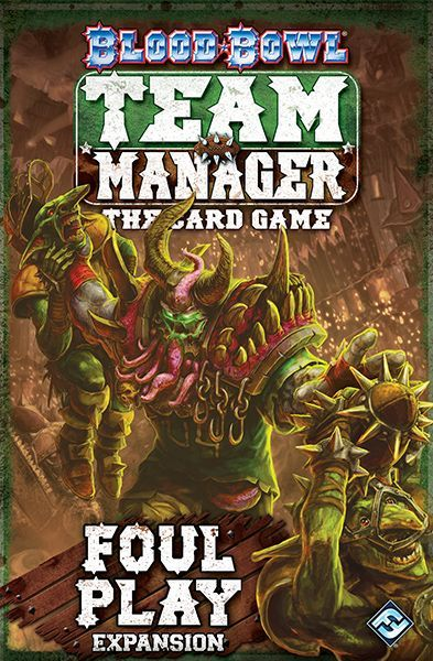 Blood Bowl Team Manager The Card Game Foul Play Board Game Boardgamegeek