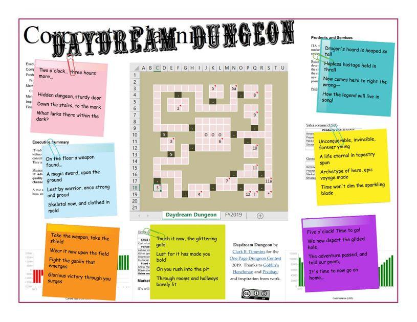 Daydream Dungeon   RPG Item   RPGGeek