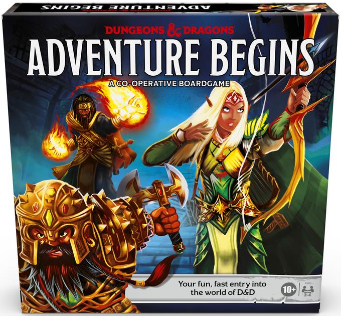 Dungeons & Dragons: Adventure Begins | Board Game | BoardGameGeek
