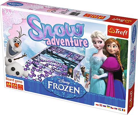 Years Trefl Disney Frozen Snow Adventure Board Game 4