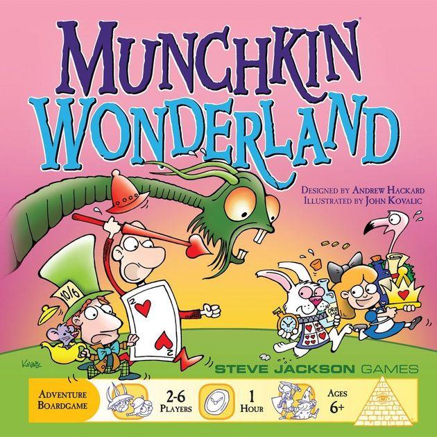 Munchkin Wonderland | Board Game | BoardGameGeek