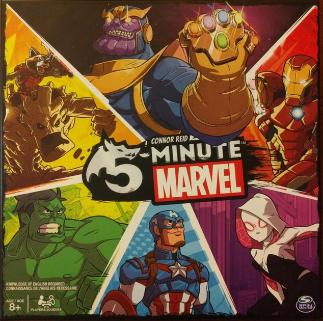 5-Minute Marvel | Board Game | BoardGameGeek