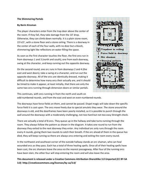 The Shimmering Portals | RPG Item | RPGGeek