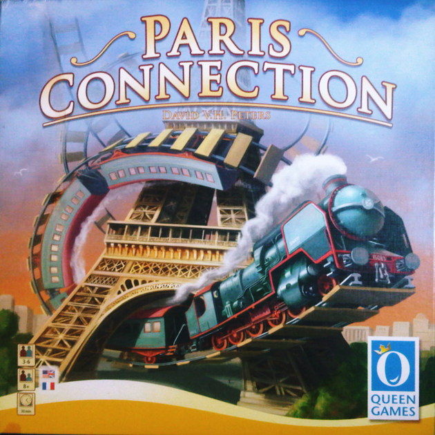Paris Connection Board Game Boardgamegeek