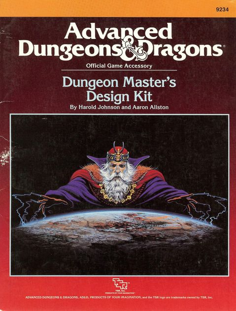 Old School Design And Still Useful Dungeon Masters Design Kit
