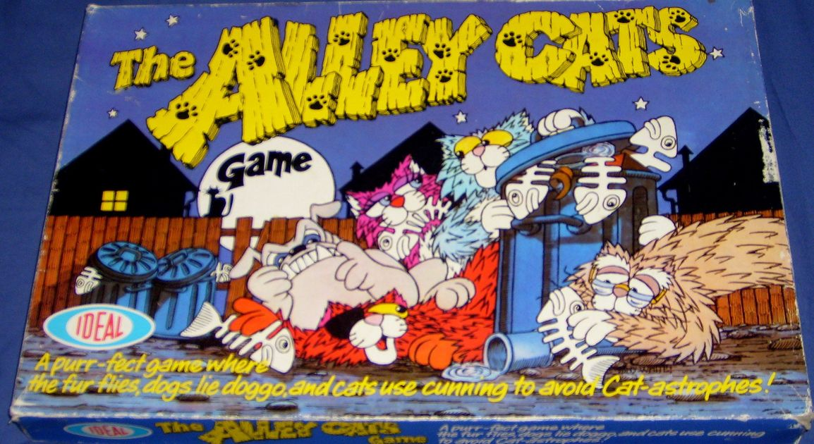 The Alley Cats Game Image Boardgamegeek