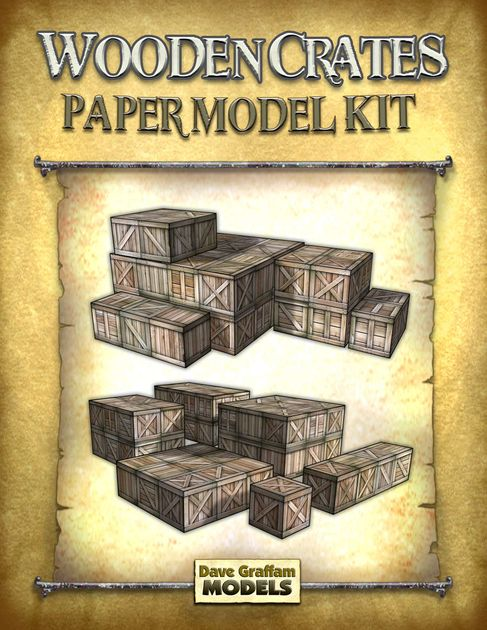 Wooden Crates | RPG Item | RPGGeek