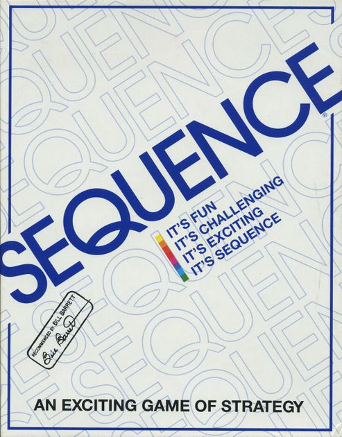 Sequence Board Game Boardgamegeek