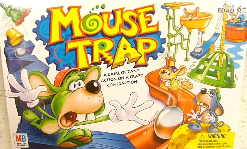 Mouse Trap Board Game Boardgamegeek