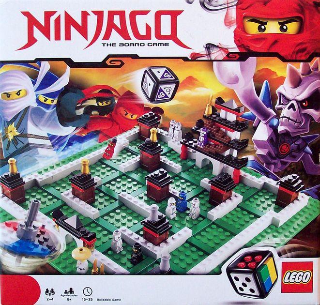 ninjago: the board game | board game | boardgamegeek