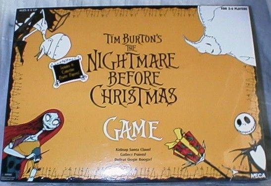 tim burtons the nightmare before christmas game board game boardgamegeek - Nightmare Before Christmas Board Game