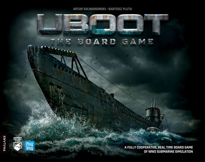 First contact with UBOOT: The Board Game | UBOOT: The Board Game