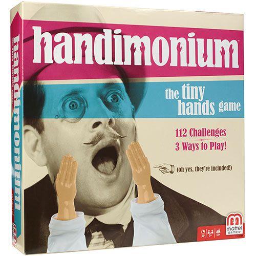 Handimonium Tiny Hands Game Speelgoed en spellen Overig