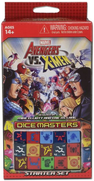 Marvel Dice Masters: Avengers vs  X-Men | Board Game | BoardGameGeek