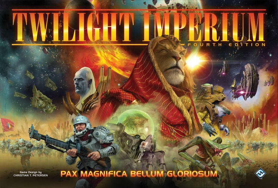 Twilight Imperium Fourth Edition Board Game Boardgamegeek