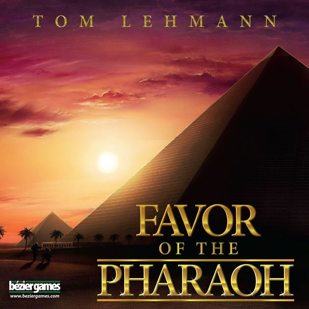 New Game Round-up: Lehmann Courts Power in Favor of the Pharaoh and the Tracy Family Gets Fancy Ships for Thunderbirds