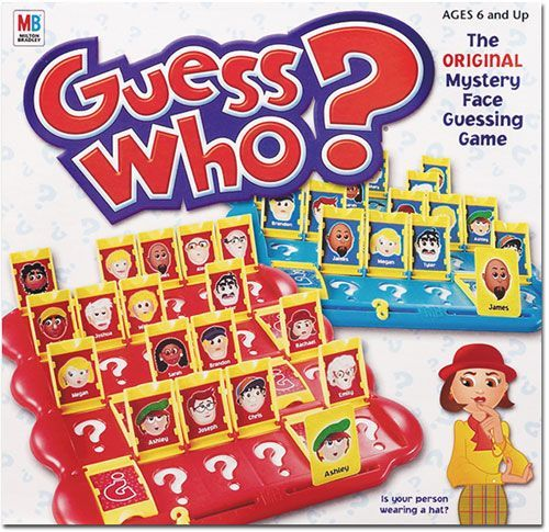 Guess Who Board Game Boardgamegeek