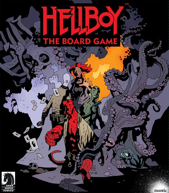 Hellboy: The Board Game | Board Game | BoardGameGeek