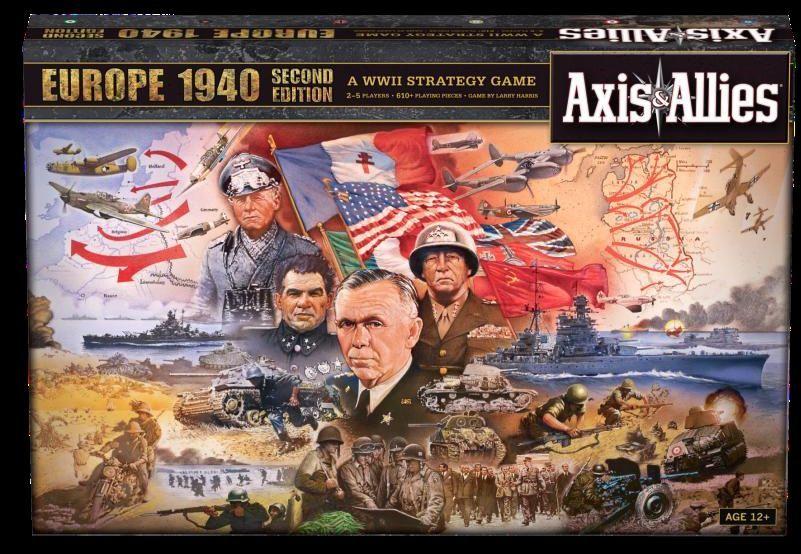 Axis & Allies Europe 1940   Board Game   BoardGameGeek