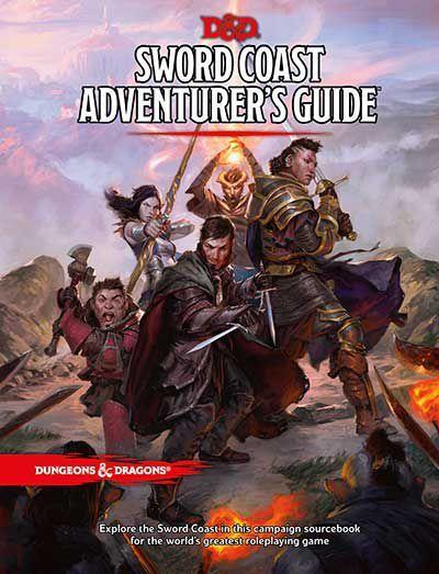 Dwarven runes and elven letters | Sword Coast Adventurer's Guide