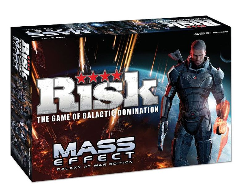Risk: mass effect galaxy at war edition | board game | boardgamegeek.
