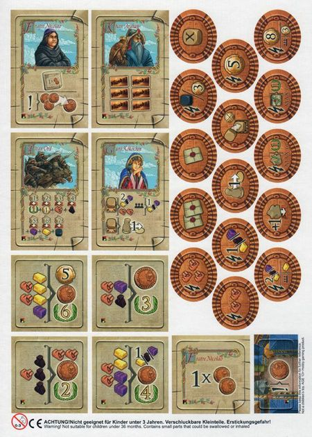 the voyages of marco polo the new characters board game boardgamegeek. Black Bedroom Furniture Sets. Home Design Ideas