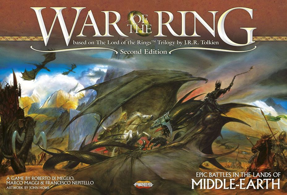 War of the Ring (Second Edition) | Board Game | BoardGameGeek