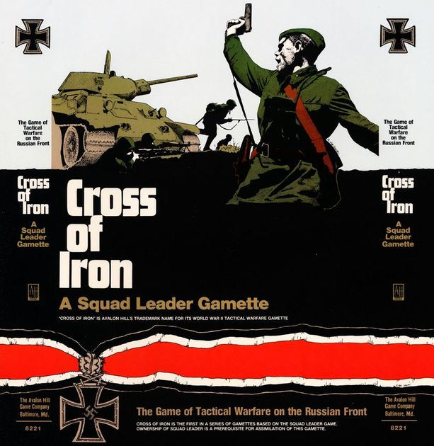 Cross of Iron: A Squad Leader Gamette | Board Game | BoardGameGeek