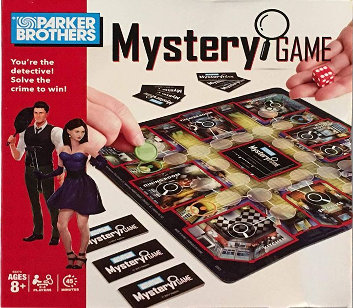 Parker Brothers Mystery Game   Board Game   BoardGameGeek