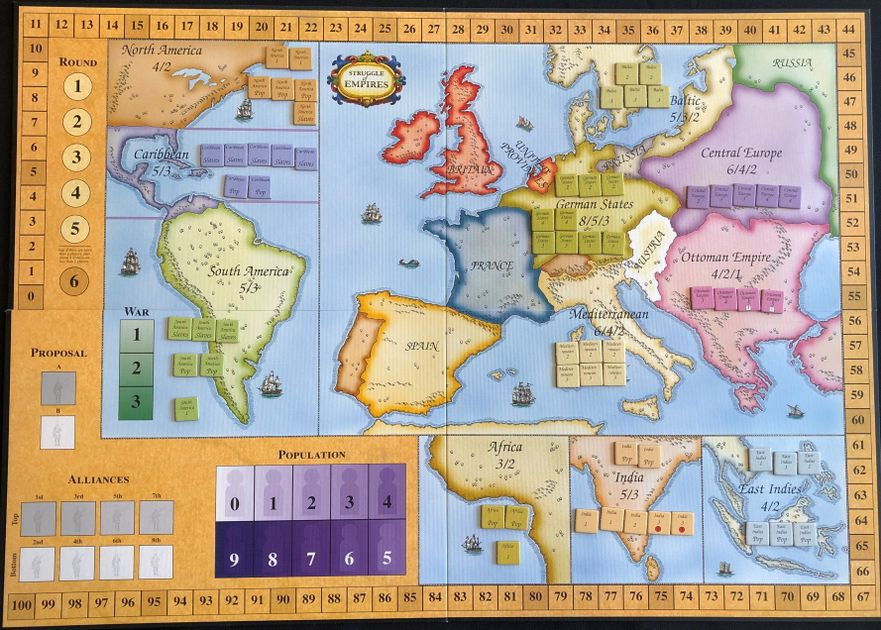 Playing slavery in the new edition of Struggle of Empires | Ludica