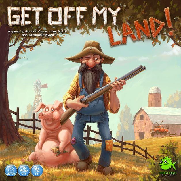 Get Off My Land Board Game Boardgamegeek